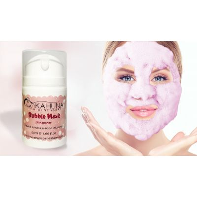 Bubble mask Pink